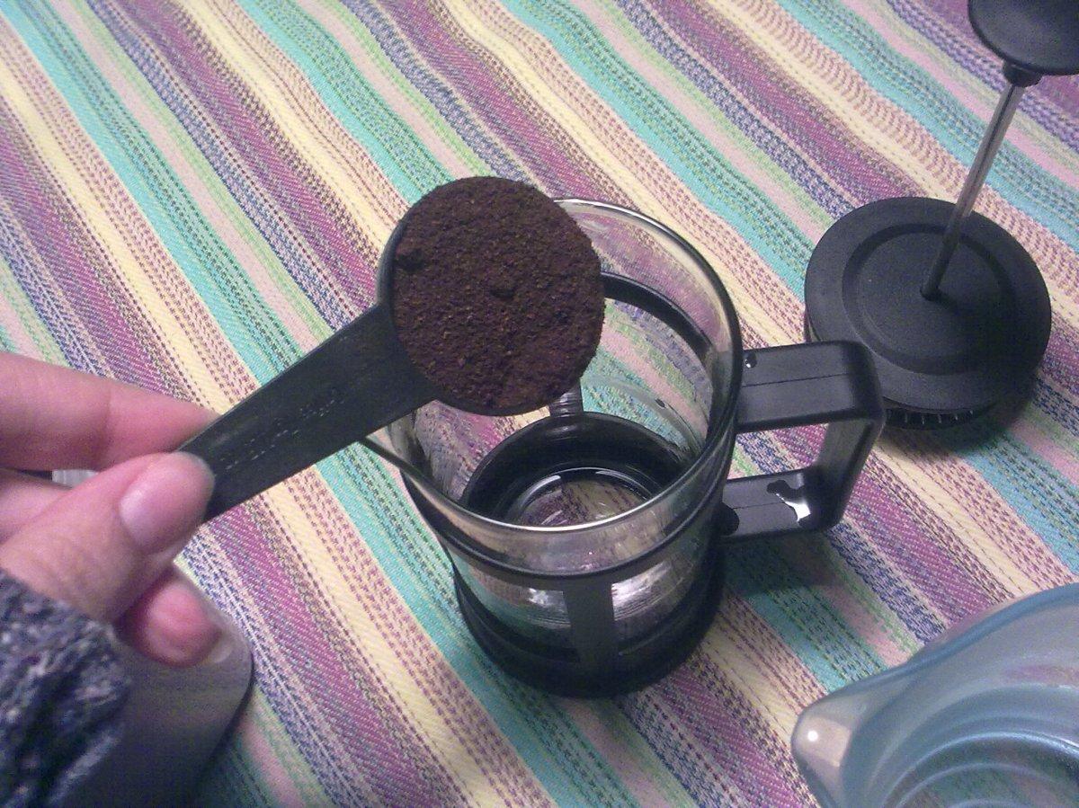 adicione o café